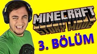 Minecraft Hikaye Modu - 3. Bölüm: Türkçe Altyazılı
