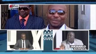 "CLASH - Bouba Ndour a Birima "" Soyez sérieux"" - dans Jakaarlo bi - 06 JANVIER 2017"