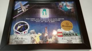 Minifigure that has been to space - Lego Life on Mars International Space Station Limited Edition