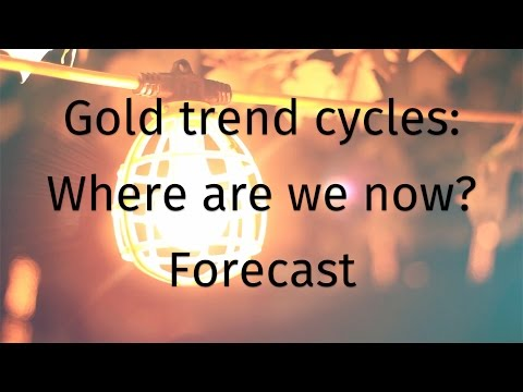 Gold trend cycles: Where are we now? - Forecast