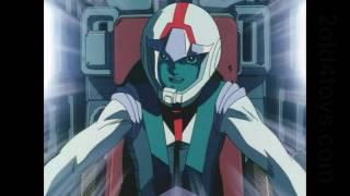 Mobile Suit Gundam 0079 alternate opening - hand drawn from Journey to Jaburo disc