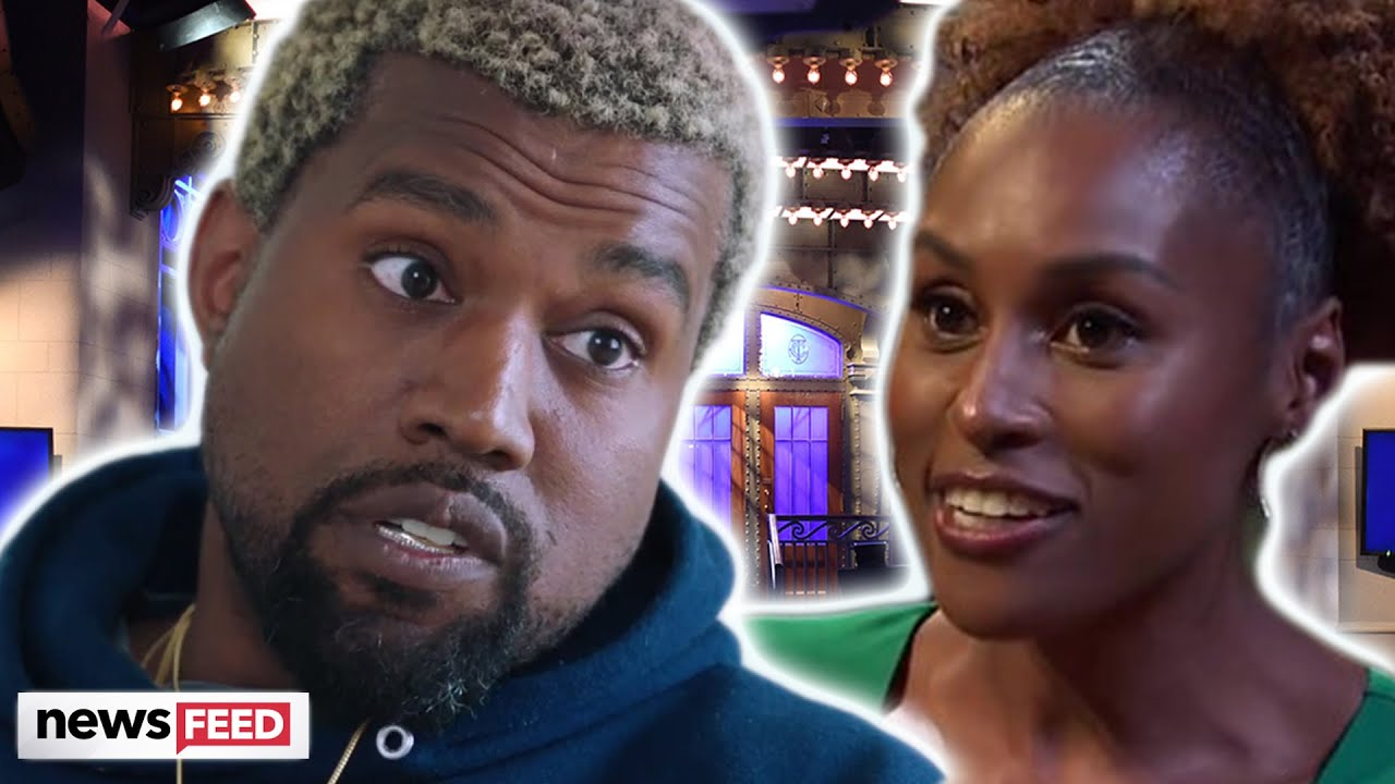 Kanye West Responds To 'SNL' SHADE From Issa Rae!