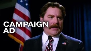 The Campaign - Marty Huggins Politic Ad (2012) Will Ferrell Movie