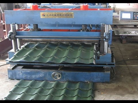 Metal Roof Tile Forming Machine Hydraulic Stamping Machine