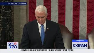 Joint Session of Congress for Counting of Electoral College Ballots