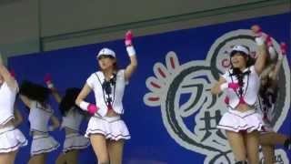 2012年7月7日ナゴヤドームでのD-STAGE LIVEに横浜DeNAベイスターズのdia...