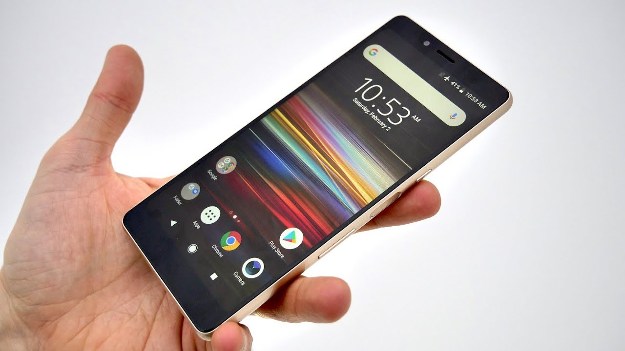 Sony Xperia L3 Setup and First Look