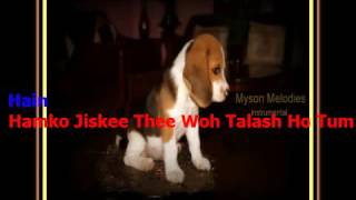 teri umeed tera intezar-Duet Instrumental;Film:Deewana