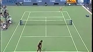 Serena Williams vs Jelena Dokic 2000 US Open 3/7