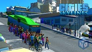 Cities Skylines - Увеличение пассажиропотока #10