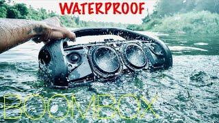 Water Bass Test 2 - JBL Boombox [ Waterproof ]
