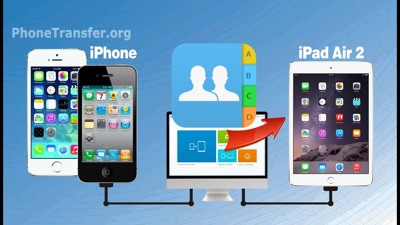 sync iphone with ipad iphone to air 2 transfer how to sync contacts from 3339