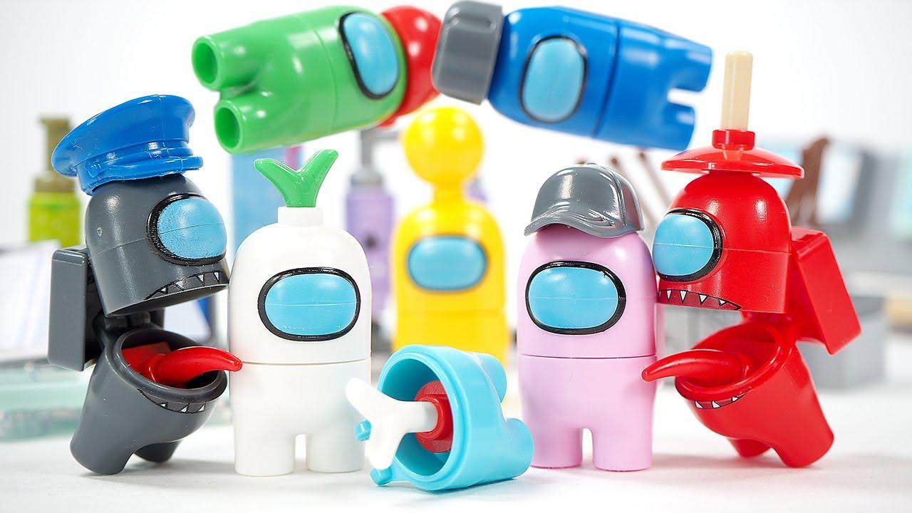 Lego Among Us Unofficial Lego Minifigures
