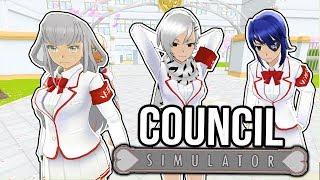 MEGAMI & PEPPER SPRAY SIMULATOR! Play as Student Council & Bullies - Yandere Simulator