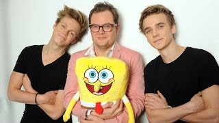 THE SPONGEBOB SQUAREPANTS MOVIE: SPONGE OUT OF WATER | RECORDING THE SEAGULL CREW | UK | Paramount
