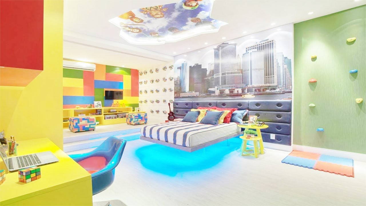 15 Amazing Kids Bedrooms Part 2 - YouTube