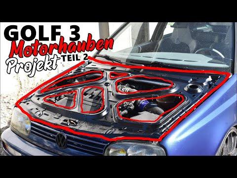 GOLF 3 MOTORHAUBEN PROJEKT TEIL 2 / BARSTUNINGTV