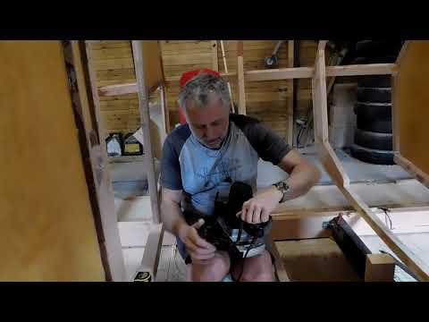 SV Tapatya - Building a cruising sailboat - EP34 - Final bits before planking