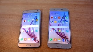 samsung galaxy j7 vs galaxy a8 speed test review hd