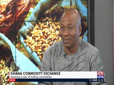 Ghana Commodity Exchange - PM Express On JoyNews (7-11-19)