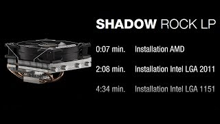 Installation: Shadow Rock LP (AMD & Intel) | be quiet!