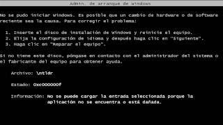 Reparar Windows XP, Windows Vista y Windows 7 tras infección por VIRUS!100% RECOMENDADO-[P@rte 1]