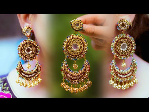 make-beautiful-paper-earrings-|-handmade-jewelry-|-made-out-of-paper-|-art-with-creativity