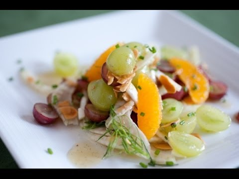 Spring Bean Salad With Toasted Fennel Vinaigrette