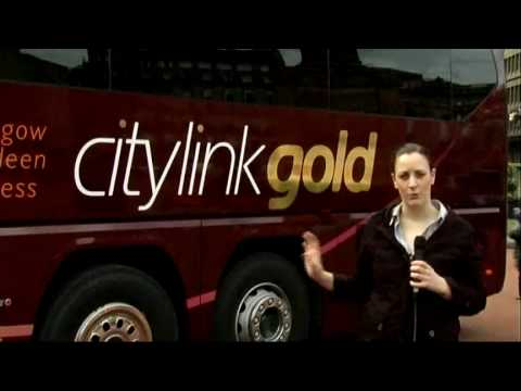 Launch of Citylink Gold Service in George Square Glasgow 05/07/10