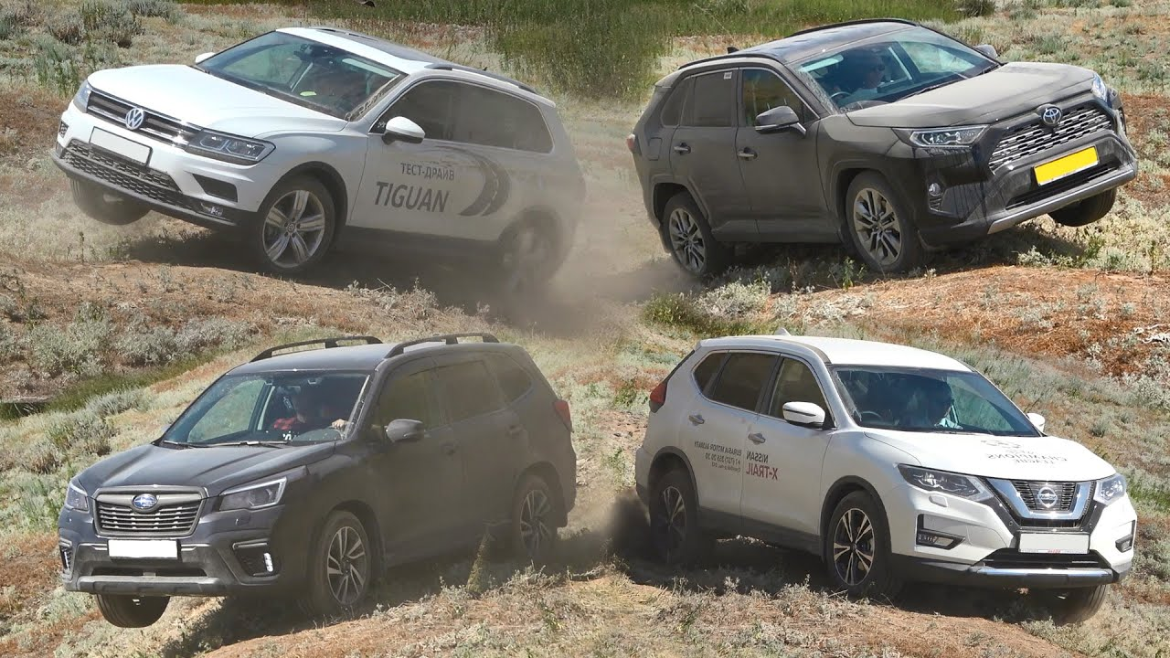 SUV Battle 2020: Toyota RAV4, Nissan Rogue, Subaru Forester, Mazda CX 5, Volkswagen Tiguan, Sportage