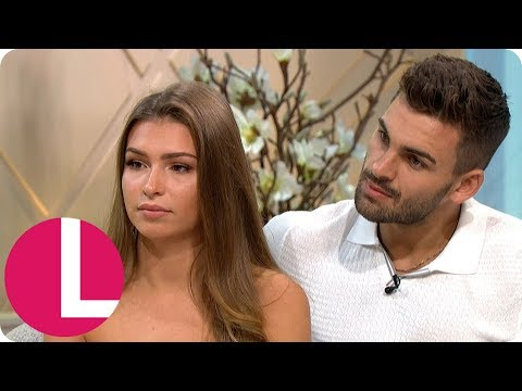 Love Island's Zara and Adam Reveal How They've Been Targeted By Online Trolls   Lorraine