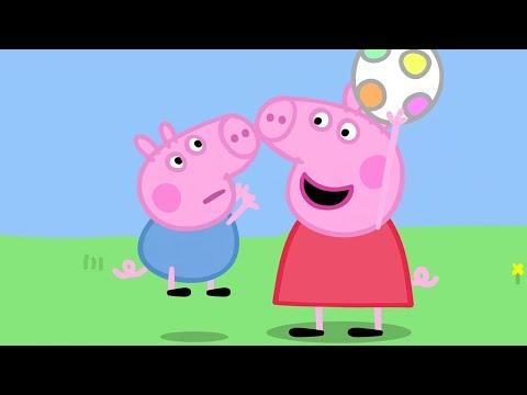 Peppa Pig in Hindi - Piggy in the Middle - Gendh ka Khel - हिंदी Kahaniya - Hindi Cartoons for Kids