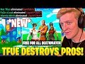 Tfue vs 15 PRO PLAYERS! *CRAZY* FREE FOR ALL CREATIVE MODE! - Fortnite FUNNY Moments