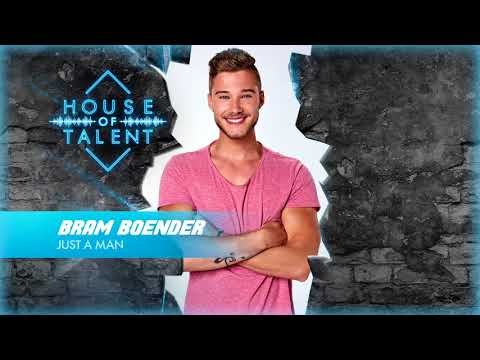 Bram Boender - Just A Man (Official Audio)