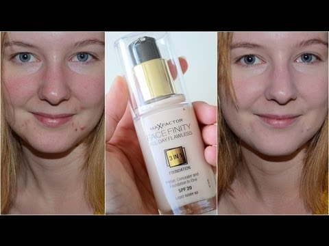 max factor facefinity foundation light ivory