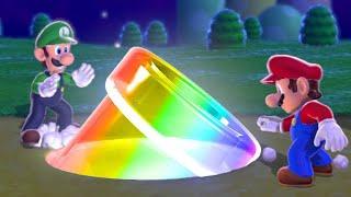 Super Mario 3D World Co-op Walkthrough - World 1 (All Green Stars & Stamps)