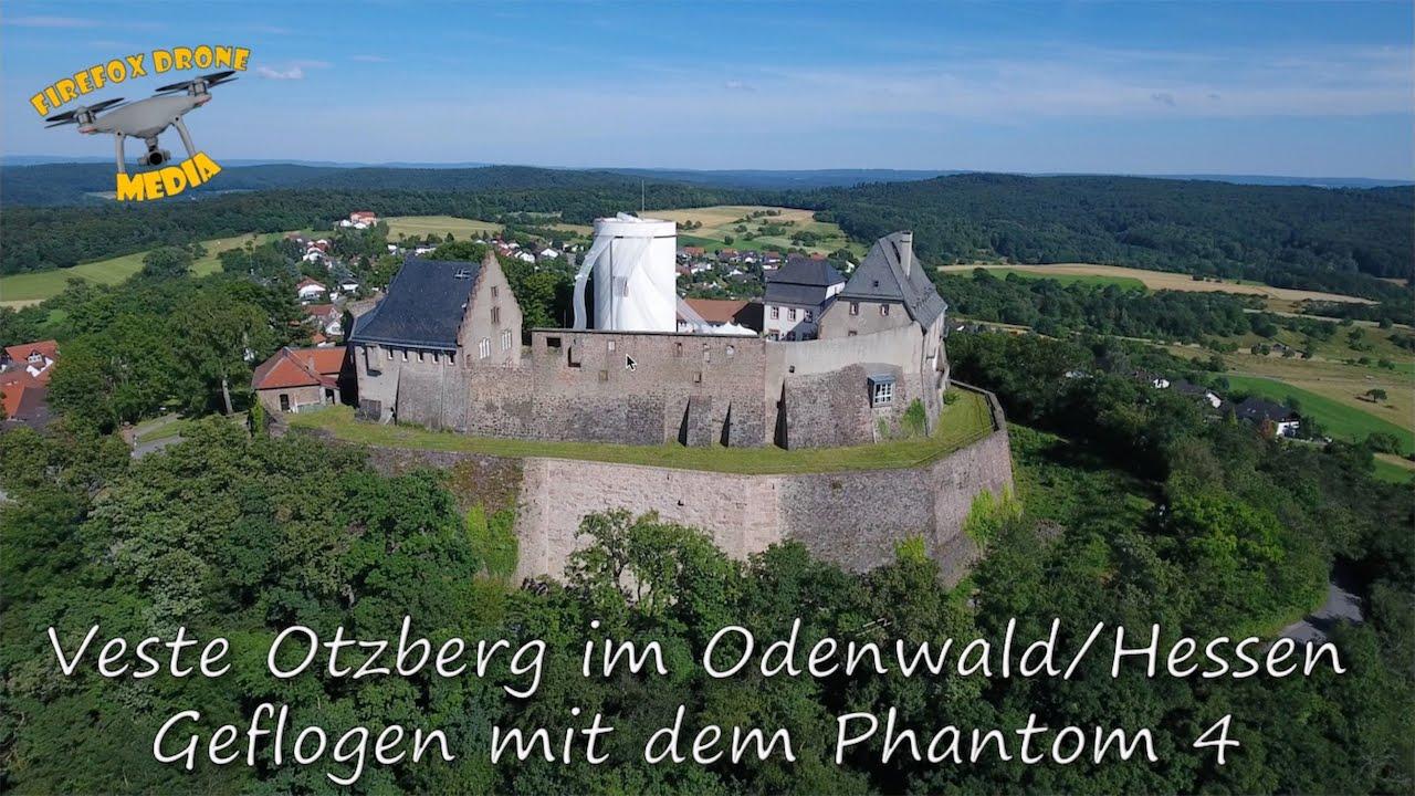 Weihnachtsmarkt Otzberg.Veste Otzberg In The Odenwald Air Recording With The Dji Phantom 4