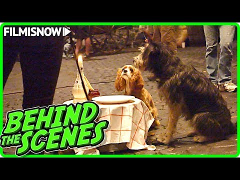 Lady And The Tramp 2019 Behind The Scenes Of Disney Live Action Movie Youtube