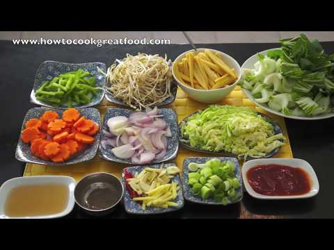 Chinese stir fry vegetables recipe asian wok youtube chinese stir fry vegetables recipe asian wok forumfinder Images