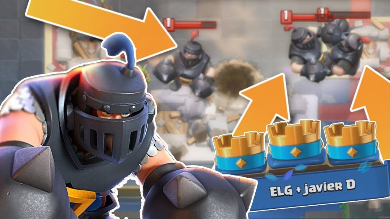 BEATING 2 MEGA KNIGHTS! Clash Royale | Mega Knight Challenge!