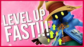 FASTEST WAY TO LEVEL UP IN FINAL FANTASY 9!!