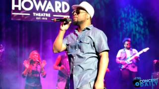Musiq Soulchild Performing 'HalfCrazy' Live at The Howard Theatre