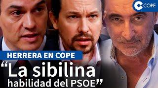 Herrera desvela el juego oculto de Unidas Podemos en el reparto del CGPJ