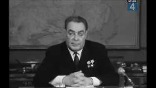 Л. И. Брежнев. Поздравление с Новым годом. 1970 год