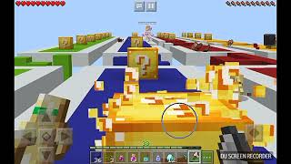 Lucky block challenge with Aliyahthegamer2_Minecraft Pocket Edition