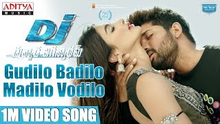 Video Gudilo Badilo Madilo Vodilo 1Min Video Song | DJ Video Songs | Allu Arjun | Pooja Hegde | DSP download MP3, 3GP, MP4, WEBM, AVI, FLV Juni 2017
