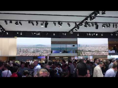 Mondial de l'Automobile / Paris Motorshow 2014 - Jaguar Stand Moving Screens