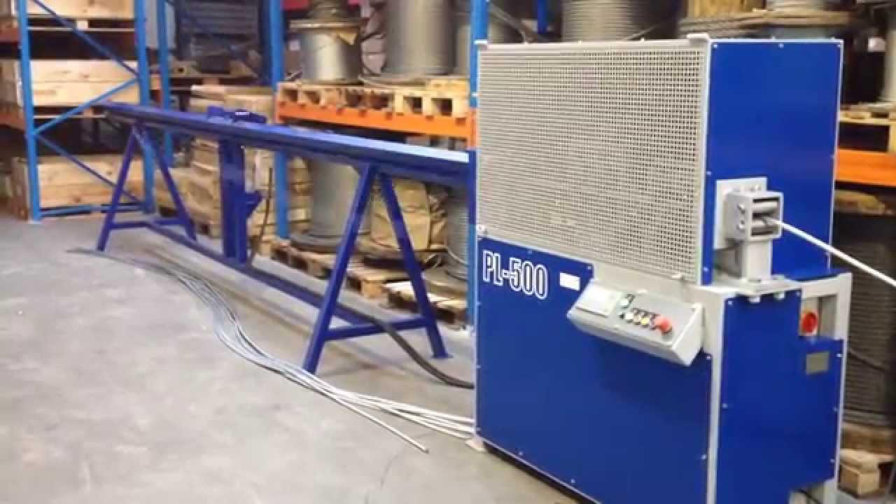 rope cutting machine