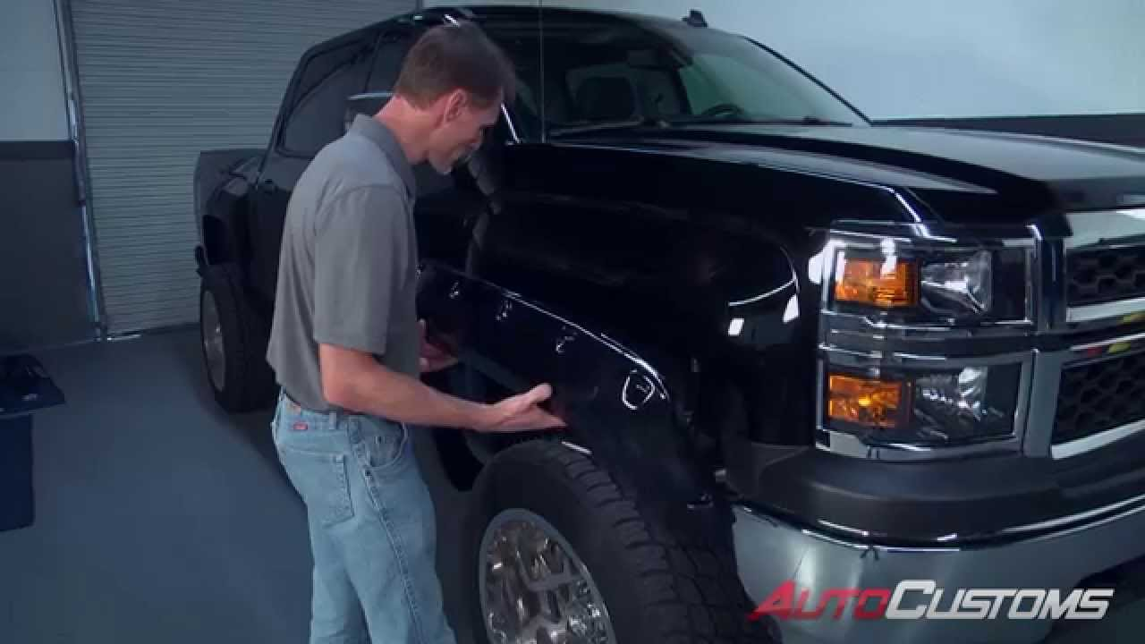 How To Install True Edge Fender Flare At Autocustoms Com