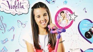 Micro Star / Mikrofon Gwiazdy - Disney Violetta - Smoby - www.MegaDyskont.pl